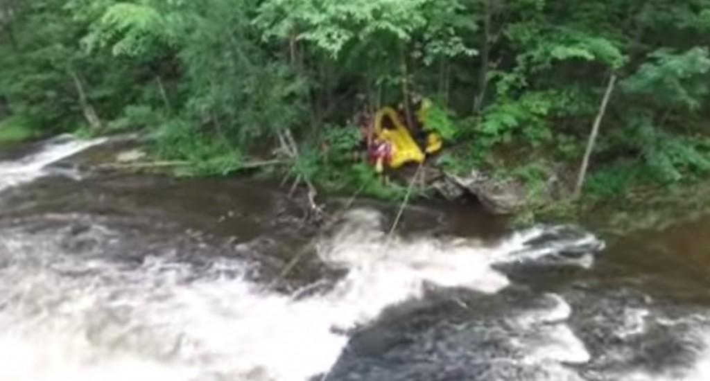 Un drone sauve la vie de deux garçons de la noyade