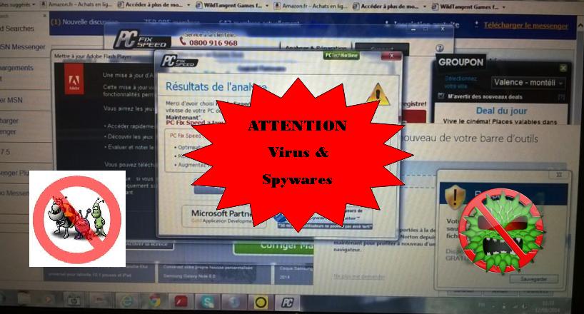 Recrudescence de virus et autres malwares